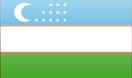 узбекский флаг